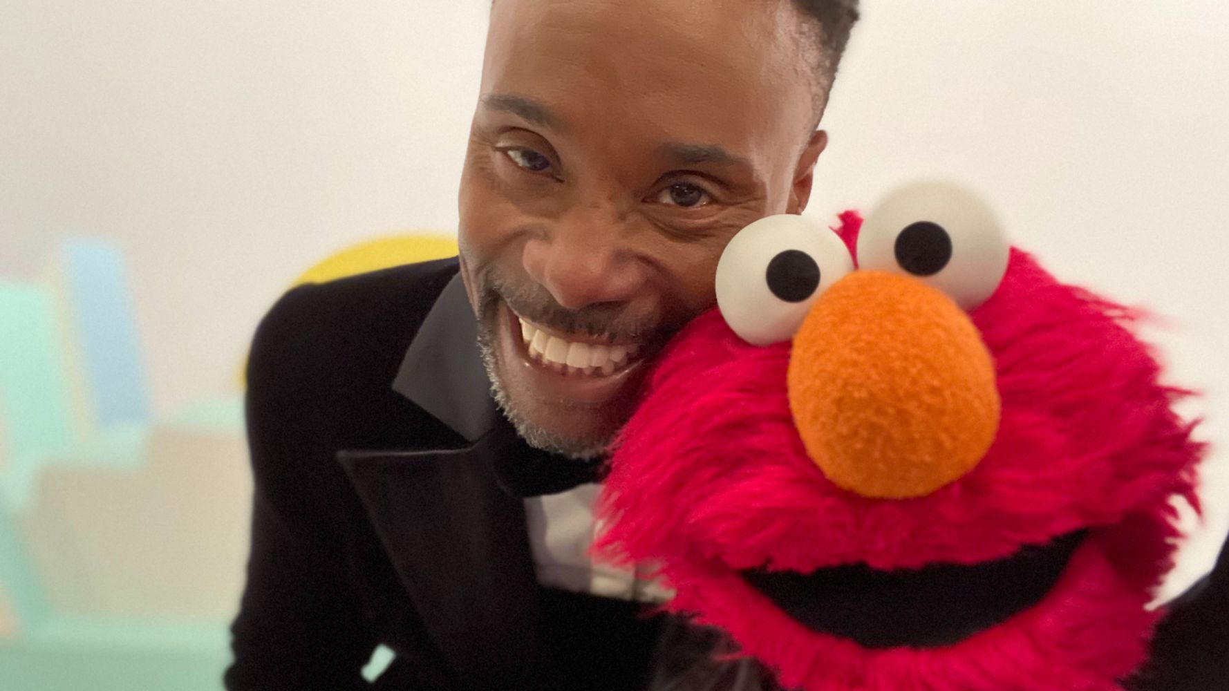Westlake Legal Group 5e34935c1f0000fd0a85aafc Billy Porter To Swing By 'Sesame Street' In His Oscars Tuxedo Dress