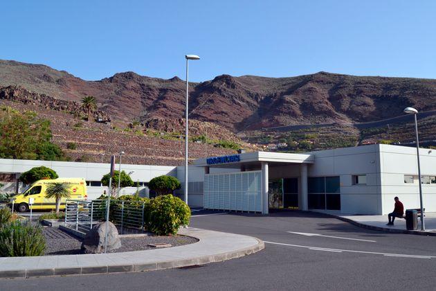 Imagen del Hospital de La Gomera donde está ingresado el paciente