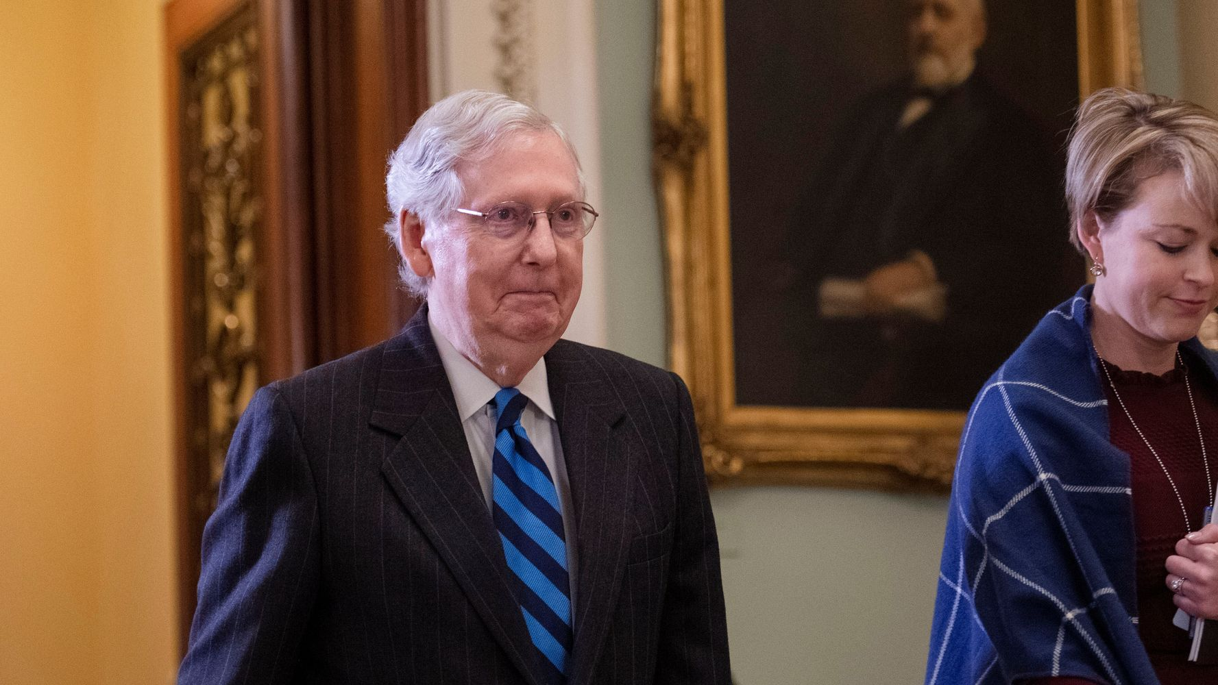 Westlake Legal Group 5e34cbd0220000520023d630 Senate Sets The Stage For Trump's Acquittal Next Week