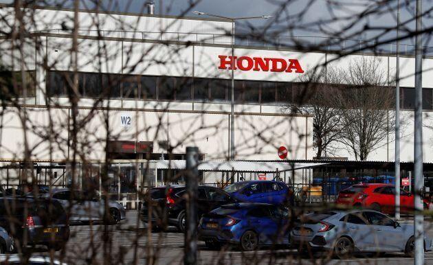 イギリスにあるホンダの工場