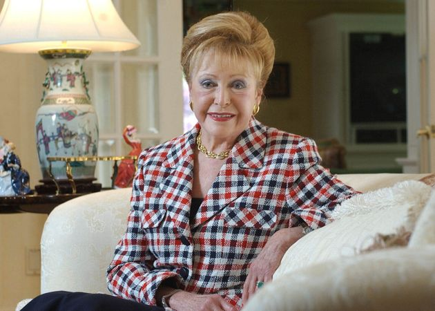 A file photo of Author Mary Higgins Clark from June 3,