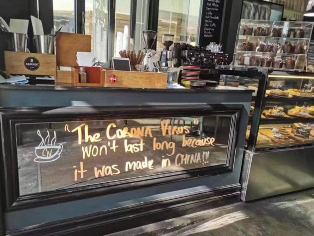 'It's Racism': Sydney Cafe's 'Made In China' Coronavirus Sign Sparks