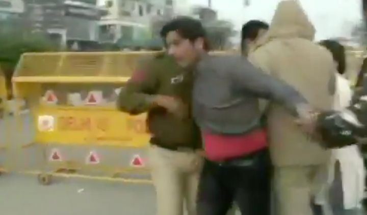 Man who opened fire at Shaheen Bagh.