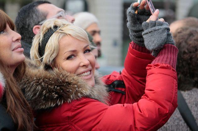 Ophélie Winter, ici en décembre 2009 à Paris,