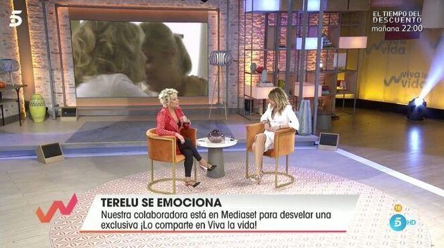 Terelu y Emma García, en 'Viva La