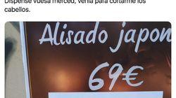 La insólita traducción de una peluquería que ya han compartido más de 2.400