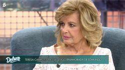 Jorge Javier Vázquez recupera la entrevista de Broncano a Carmena y le pregunta a María Teresa Campos por el