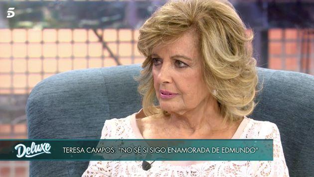 María Teresa Campos en 'Sábado