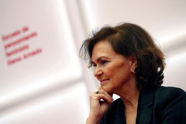 Carmen Calvo pide dejar los Presupuestos al margen de la política
