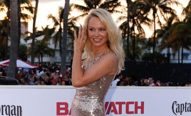 Pamela Anderson (ici le 13 mai 2017) prend ses distances avec son mari, 12 jours après son