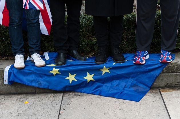 Británicos que apoyan el