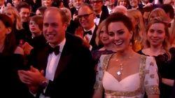 Brad Pitt a osé une blague sur Harry devant William et Kate aux
