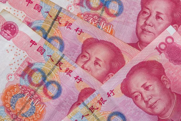 100 Chinese Yuan. close