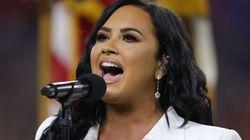 Y lo hizo: Demi Lovato emociona con su actuación en la final de la Super
