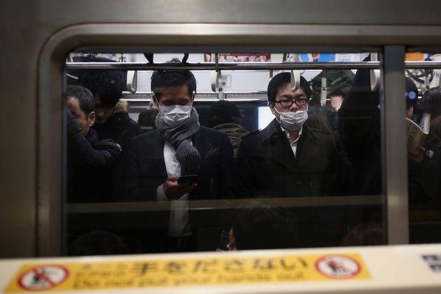 도쿄 지하철. 2020. 1.