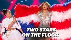 La fille de J.Lo a fait sensation sur scène au Super