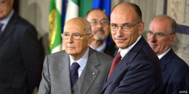 Letta anuncia el nuevo Gobierno de Italia: Alfano será ministro del Interior y Saccomanni ocupará la...