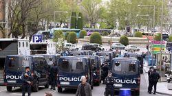 25A: La protesta se salda con 15 detenidos (FOTOS,