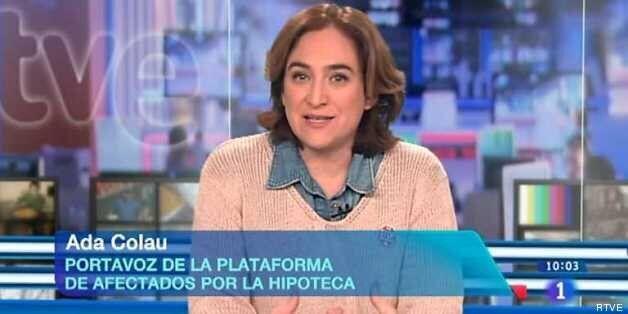 Ada Colau, en Los Desayunos de TVE el pasado 13 de