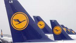 Lufthansa cancela casi todos sus vuelos por una