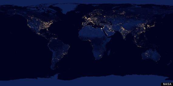 Estas son las mejores imágenes nocturnas de la Tierra obtenidas por la NASA