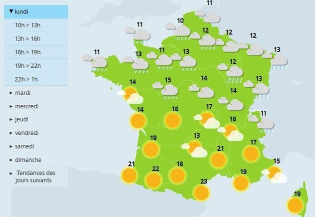 La France connaît son deuxième début d'hiver le plus doux depuis