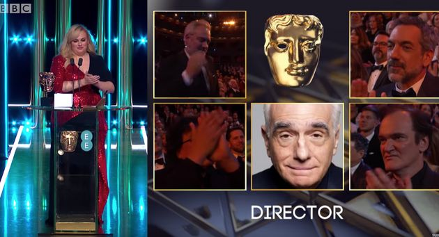 Baftas 2020: Quentin Tarantino Might Need To Work On His Gracious Loser Face