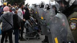 Ένταση στη Λέσβο μεταξύ αιτούντων άσυλο και
