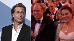 Brad Pitt ai Bafta ironizza sulla Megxit. Kate e William stanno perfettamente al