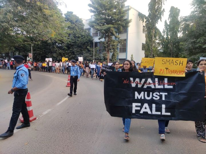 1,500 students of IIT Madras — many of them women — have submitted a petition to the administration demanding that the gate be reopened.