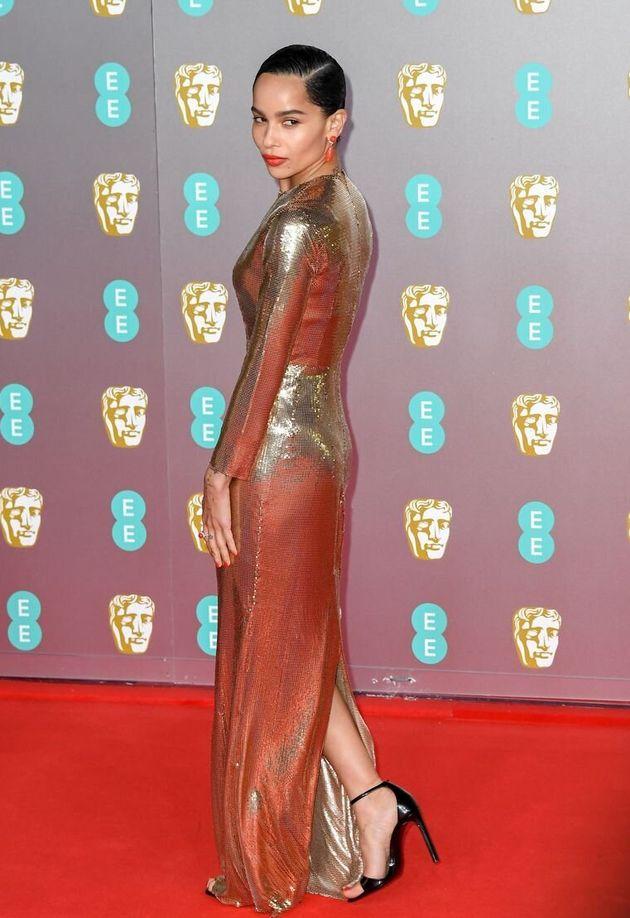 Zoë Kravitz sur le Red Carpet des
