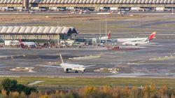 Barajas reabre tras cerrar su espacio aéreo por la presencia de