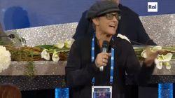 Fiorello show a Sanremo: