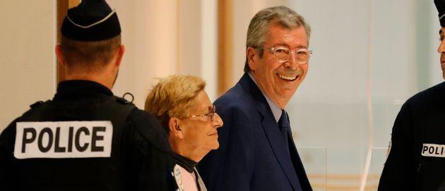 Patrick Balkany et son épouse Isabelle en septembre