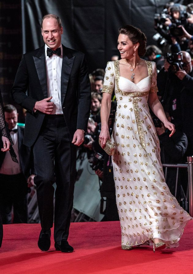 The couple attended the 2020 British Academy Film Awards at London's Royal Albert Hall on Sunday