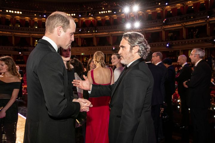 William speaks with BAFTA winner Joaquin Phoenix.