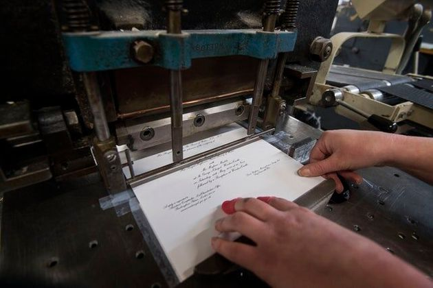 In Pictures: Countdown Begins As Invitations Are Printed For Royal