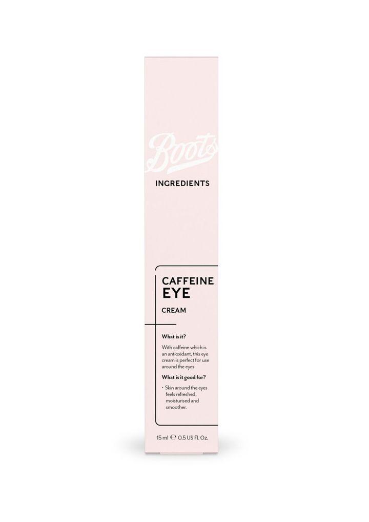Boots Ingredients Caffeine Eye Cream, Boots
