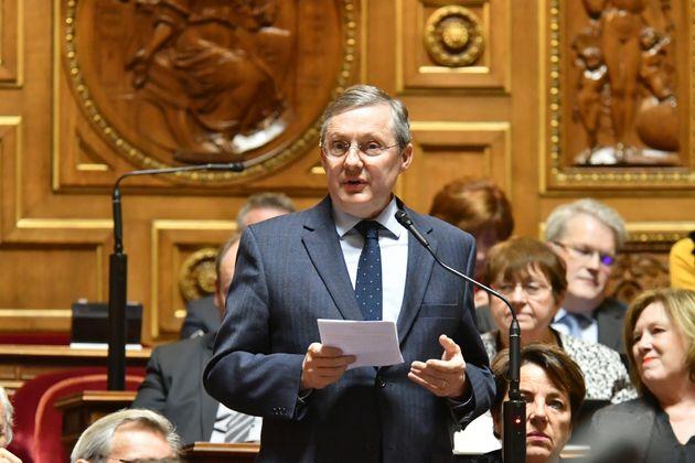 Le sénateur LR Philippe Bas, président de la commission des Lois du