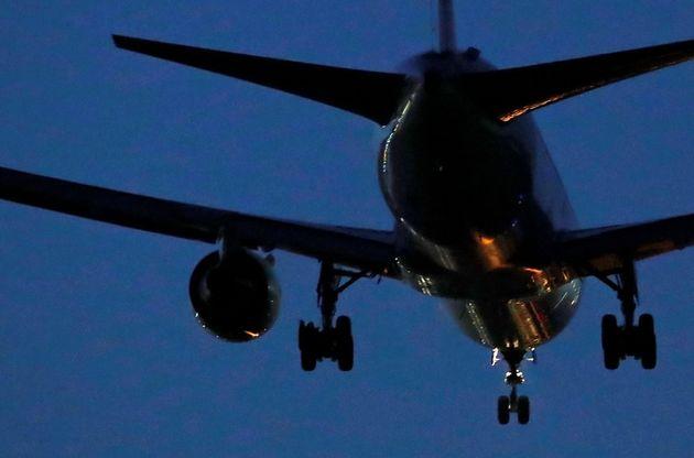 Detalle del avión de Air Canada que ha aterrizado de emergencia en