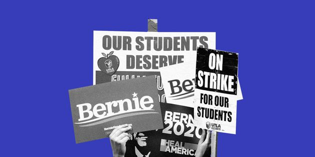 How Bernie Sanders Became Teachers' Favorite