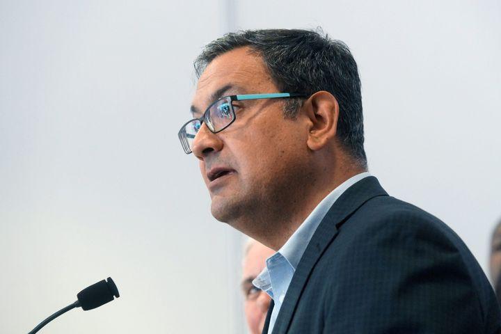 Le député solidaire de Laurier-Dorion, Andrés Fontecilla.