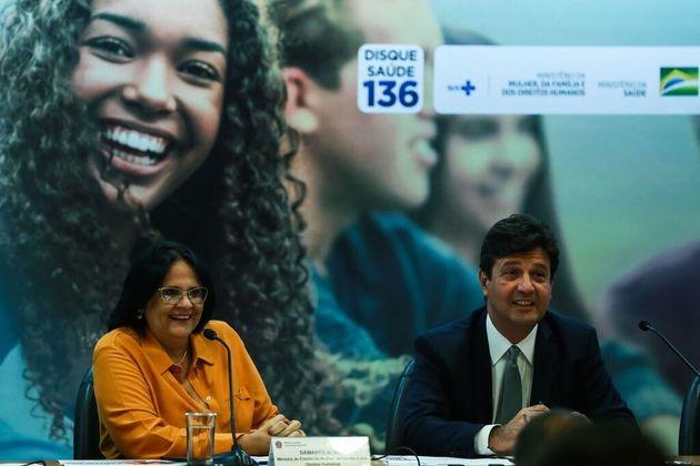 A campanha é uma ação em conjunto dos ministérios dos Direitos Humanos, comandado...