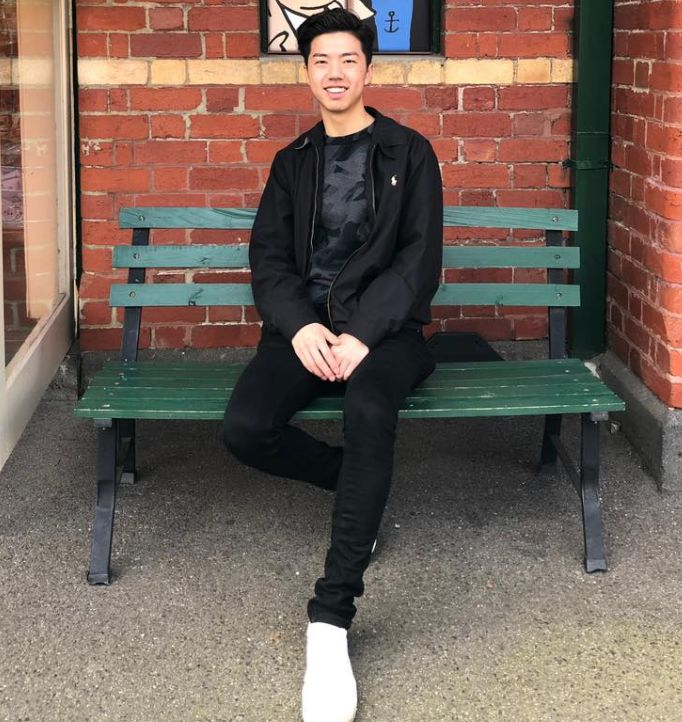 Daniel Ou Yang, 21, was in Wuhan to visit his grandparents.