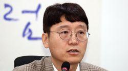 새로운보수당에 입당한 김웅이 추미애를