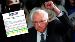 Bernie Sanders publie ses chiffres et revendique sa victoire (non officielle) dans
