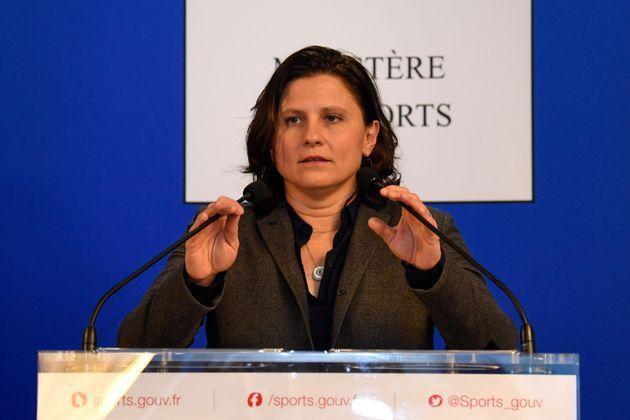 Roxana Maracineanu a demandé, ce lundi 3 février, à Didier Gailhaguet de démission...