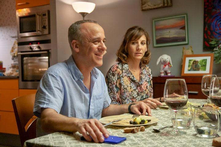 Javier Gutiérrez y Malena Alterio, protagonistas de 'Vergüenza'.