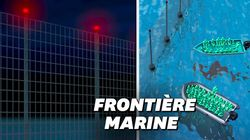 Voici à quoi pourrait ressembler la barrière marine anti-migrants de la
