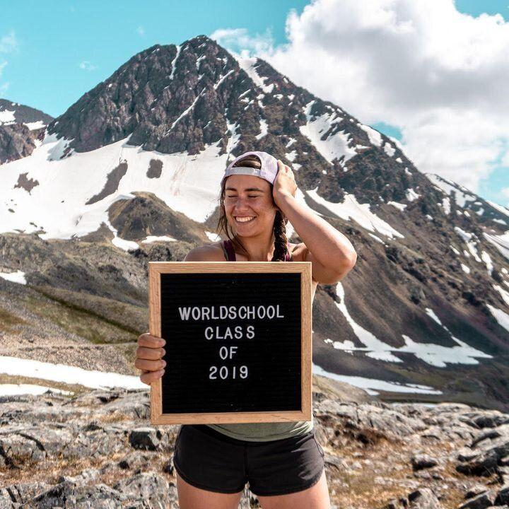 Gabriela Robledo en Alaska.